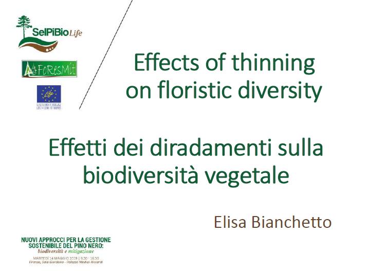 06_BIANCHETTO_ SelPiBio-Foresmit-Biodiversità